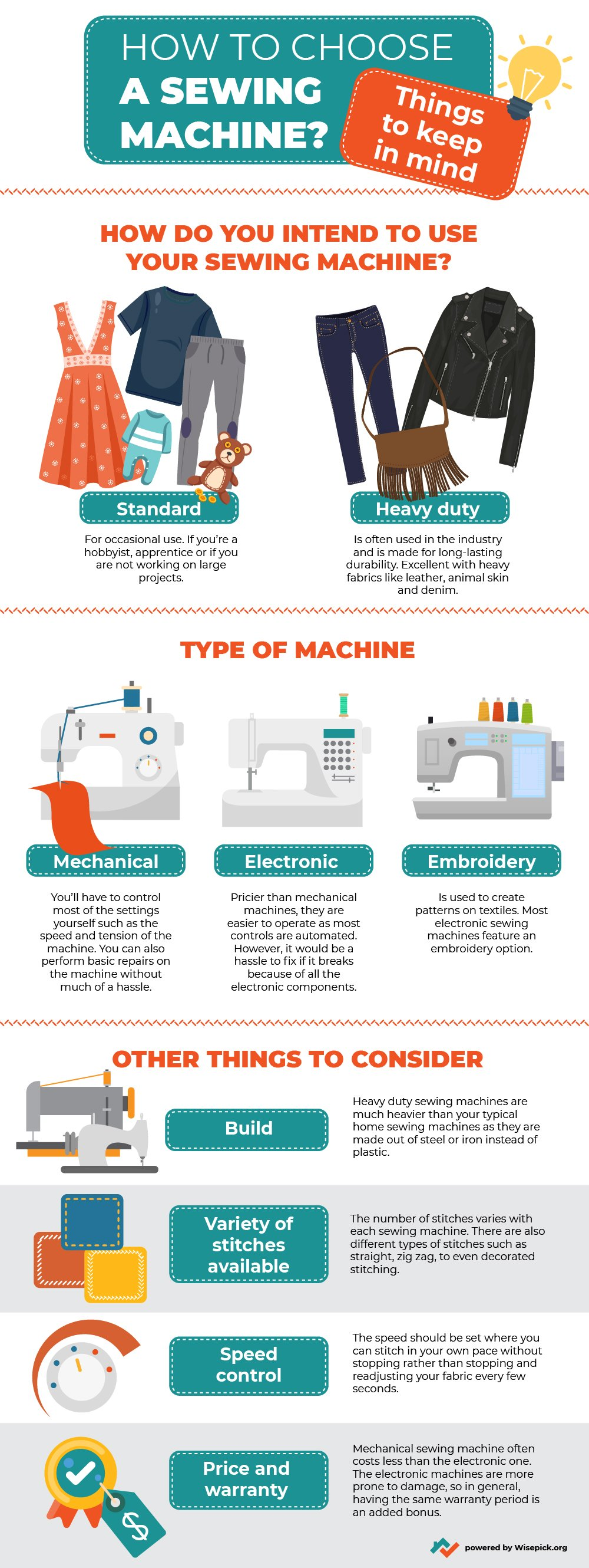 How To Choose a Sewing Machine: Things To Keep in Mind