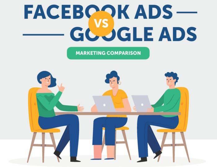 Marketing Comparison: Facebook Ads Vs. Google Ads