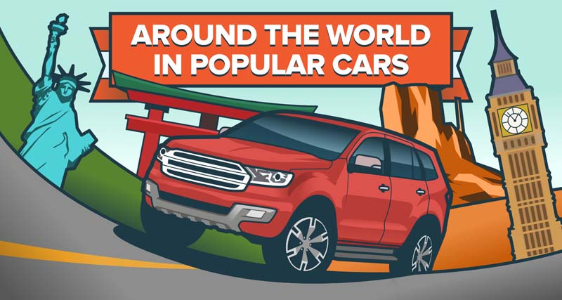 Around the World in the Most Popular Cars