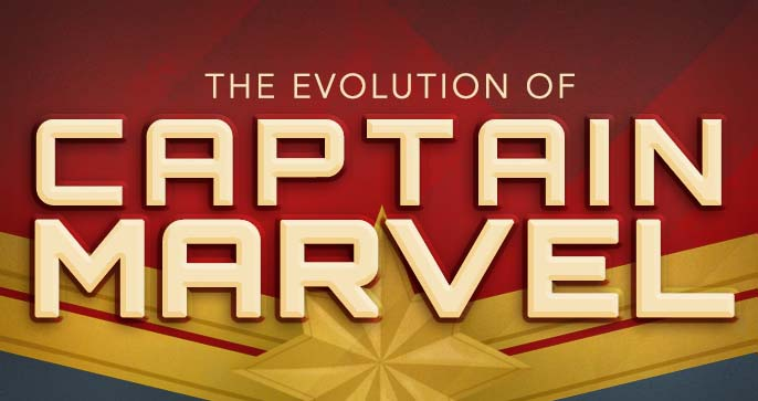 The Evolution of Captain Marvel