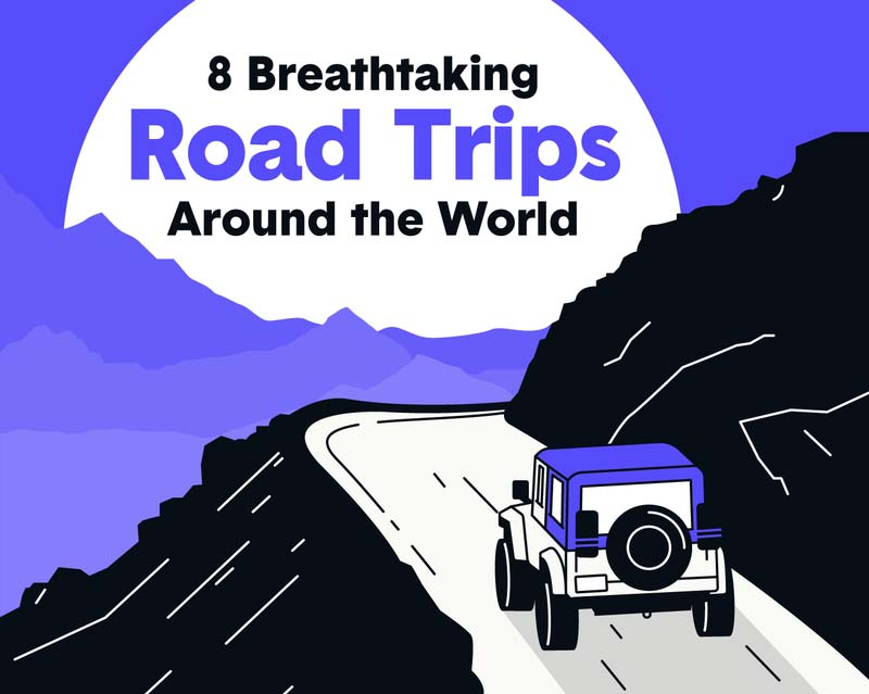 8 Iconic Road Trips Around the World