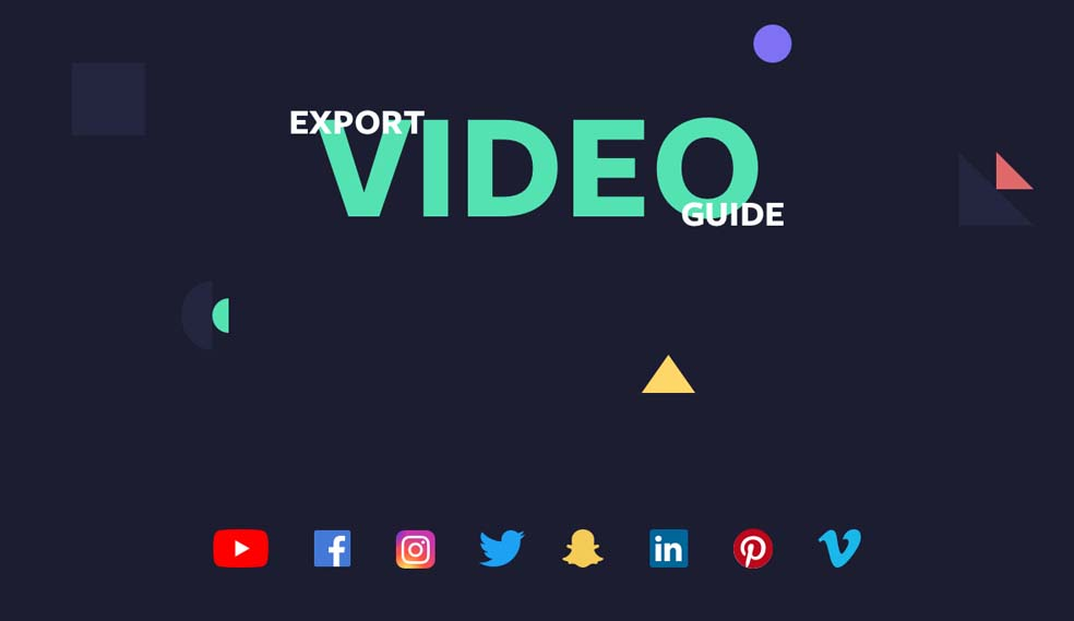 Video Export Guide To Social Media