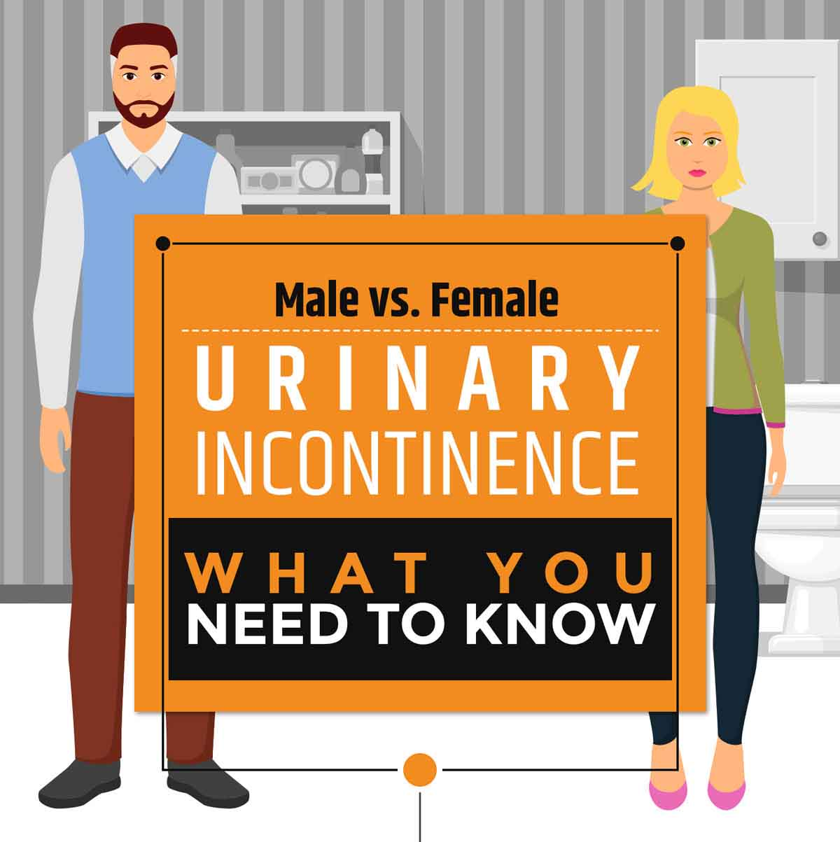 Men vs Women: Urinary Incontinence