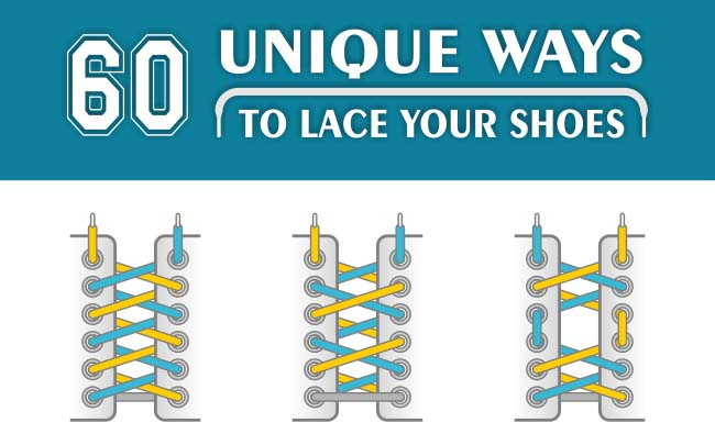 60 Unique Ways to Lace Your Shoes