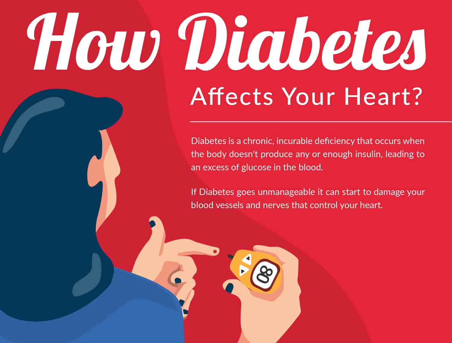 How Diabetes Affects Your Heart?