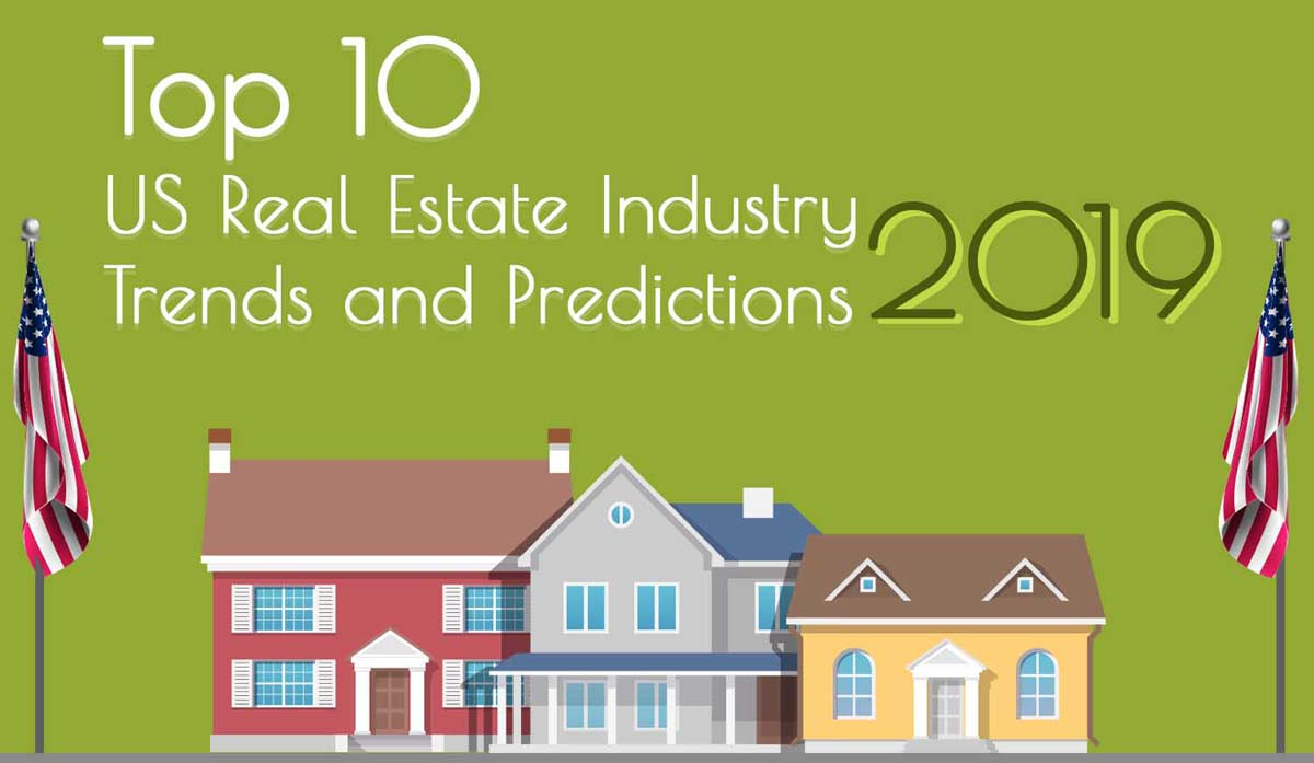 Top 10 US Real Estate Industry Trends and Predictions for 2019