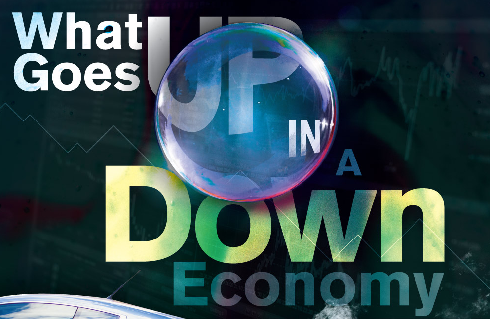 What Goes Up In A Down Economy?