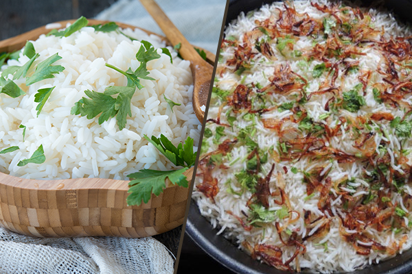 A Comparison of Basmati and Jasmine Rice