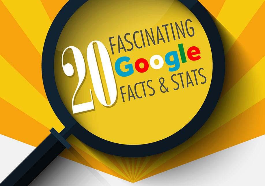 20 Fascinating Google Facts & Stats