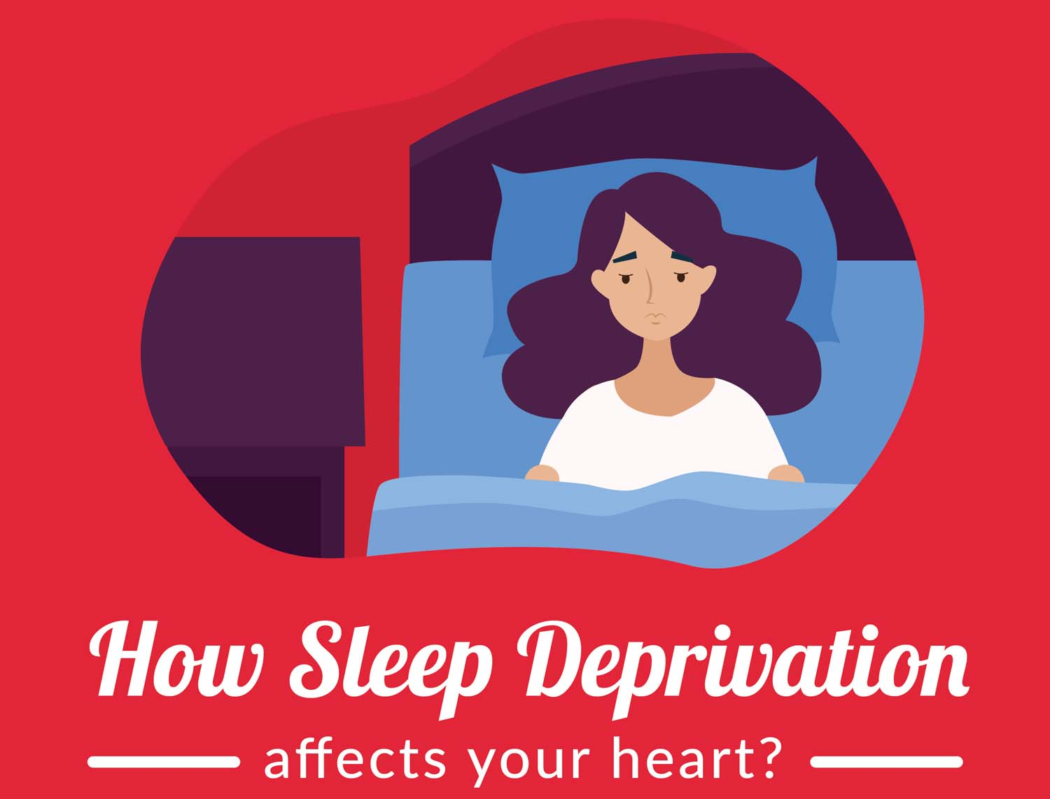 How Sleep Deprivation Affects Your Heart?