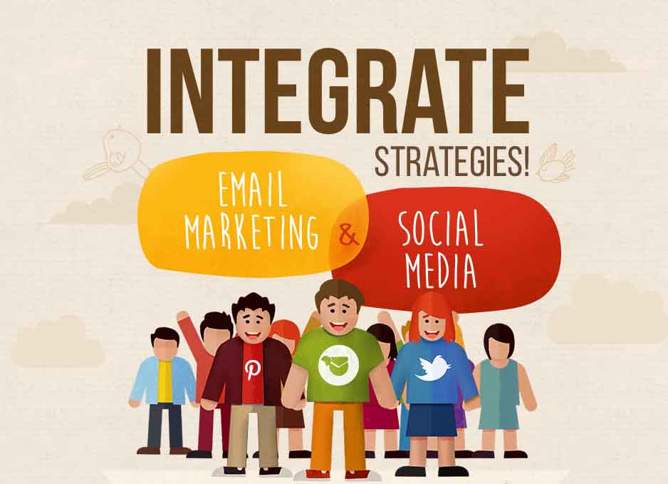 Integrate Email Campaigns and Social Media Presence