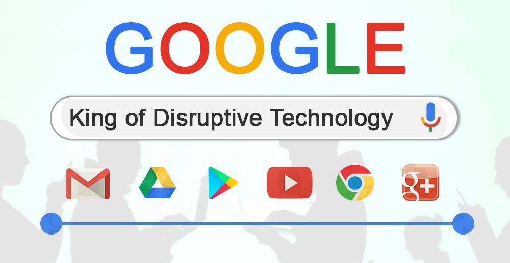 Google – King of Disruptive Technology