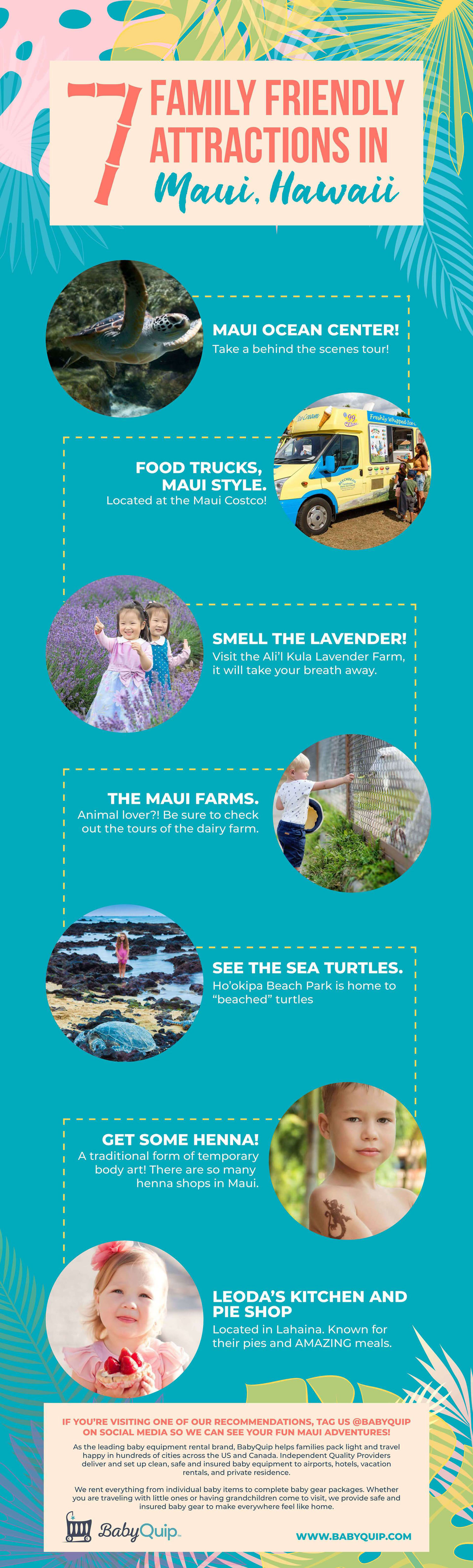 7 Family Friendly Attractions in Maui, Hawaii