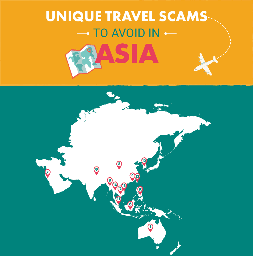 15 Most Unique Travel Scams in Asia