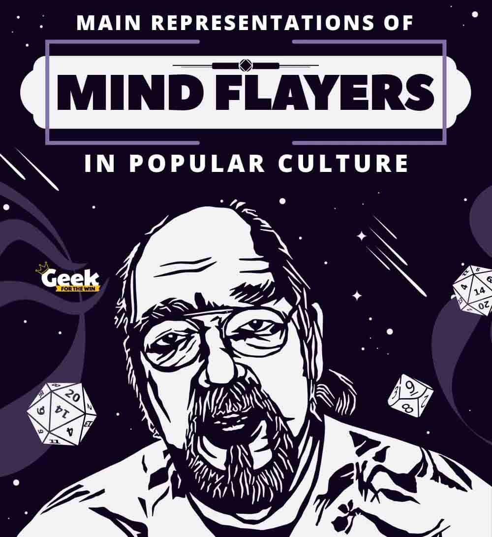 Main Representations of Mind Flayers in Popular Culture