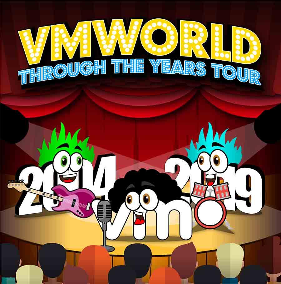 VMworld Through the Years Tour 2004-2019