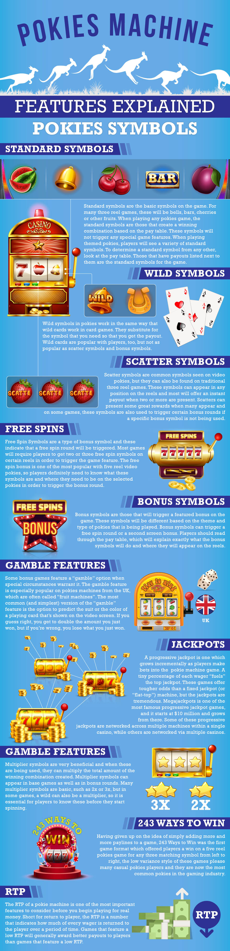 Slot Machine Features