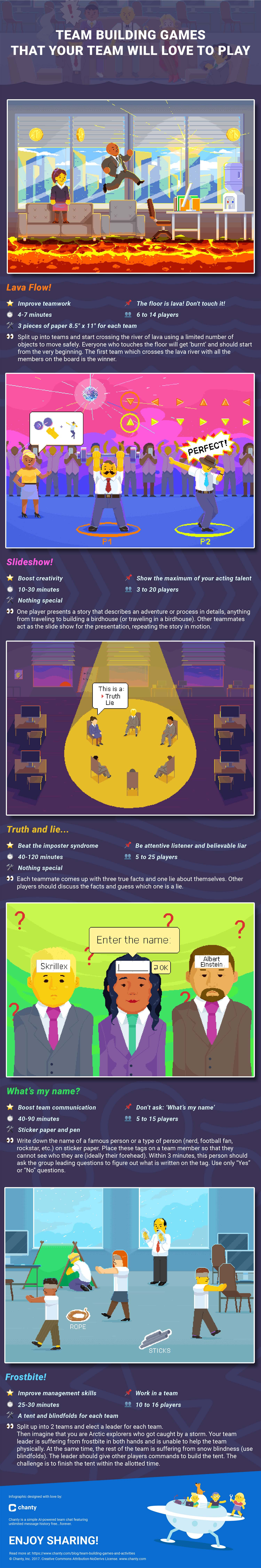 Team-Building Games That Your Team Will Love to Play