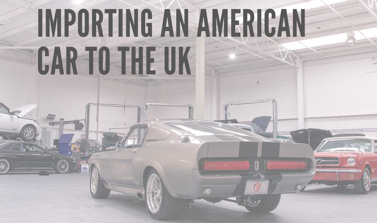 Guide to Shipping a Car From USA to UK