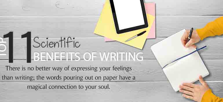 11 Benefits of Writing – According to Science, J.K Rowling, Stephen King, and More!