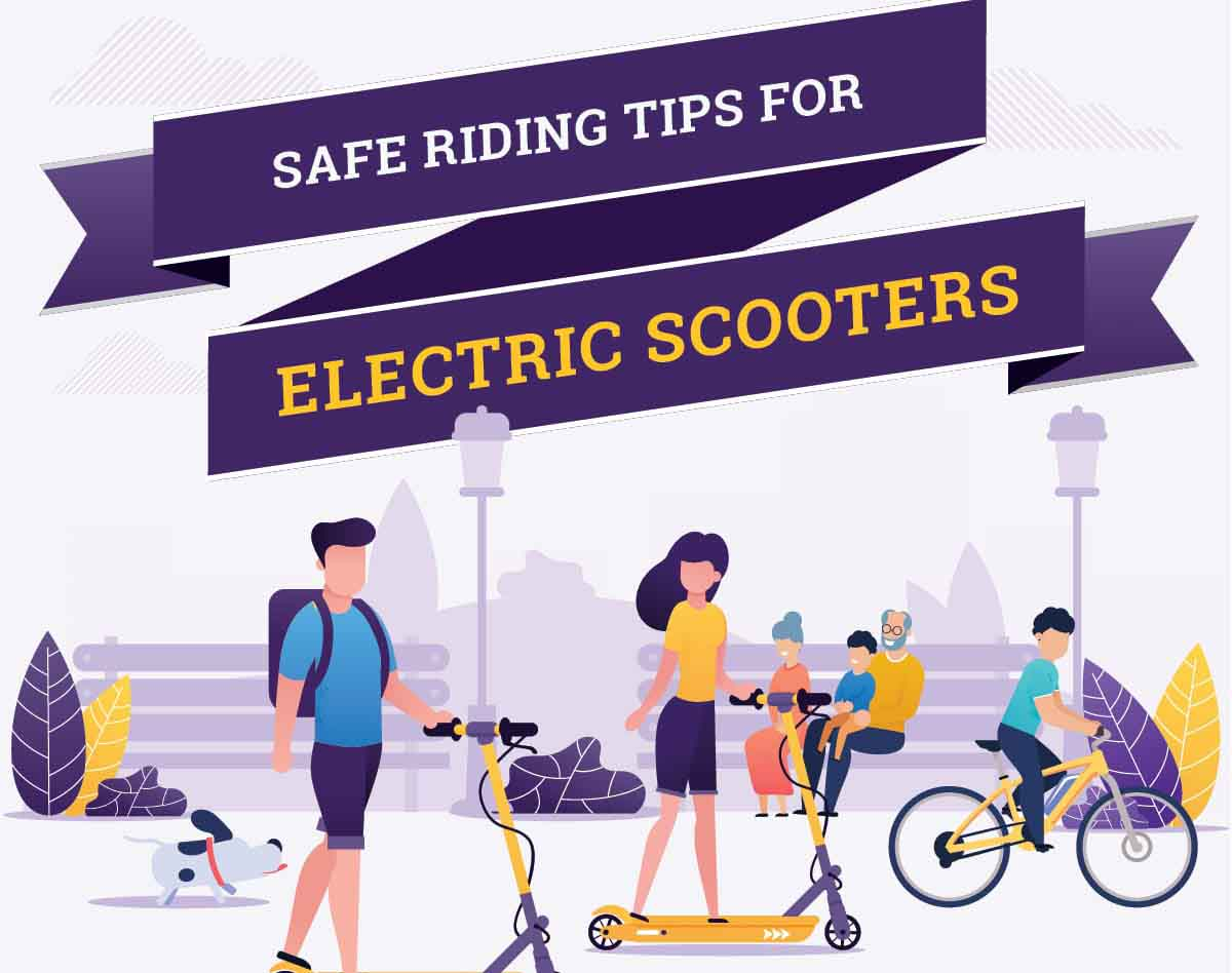 Safe Riding Tips For Electric Scooters