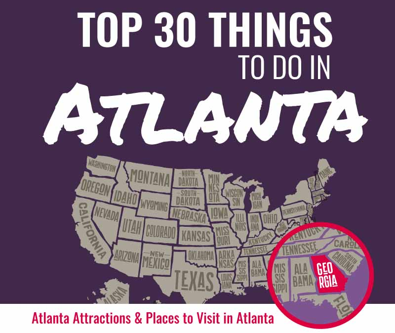 Top 50 Things to Do in Atlanta