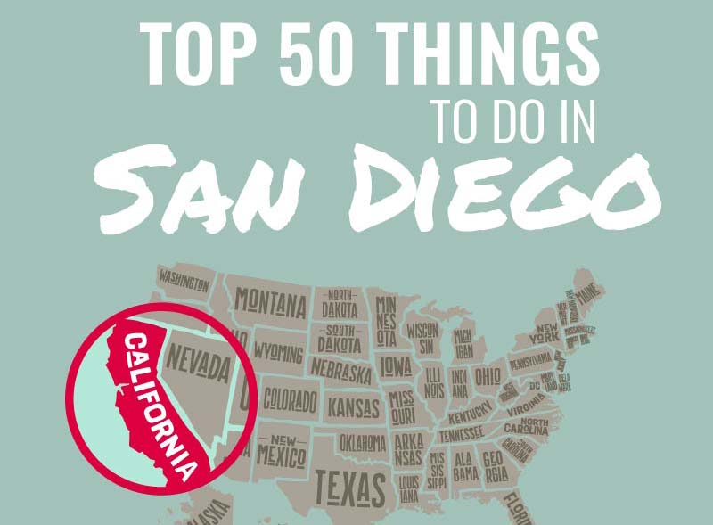 Top 50 Things to Do in San Diego