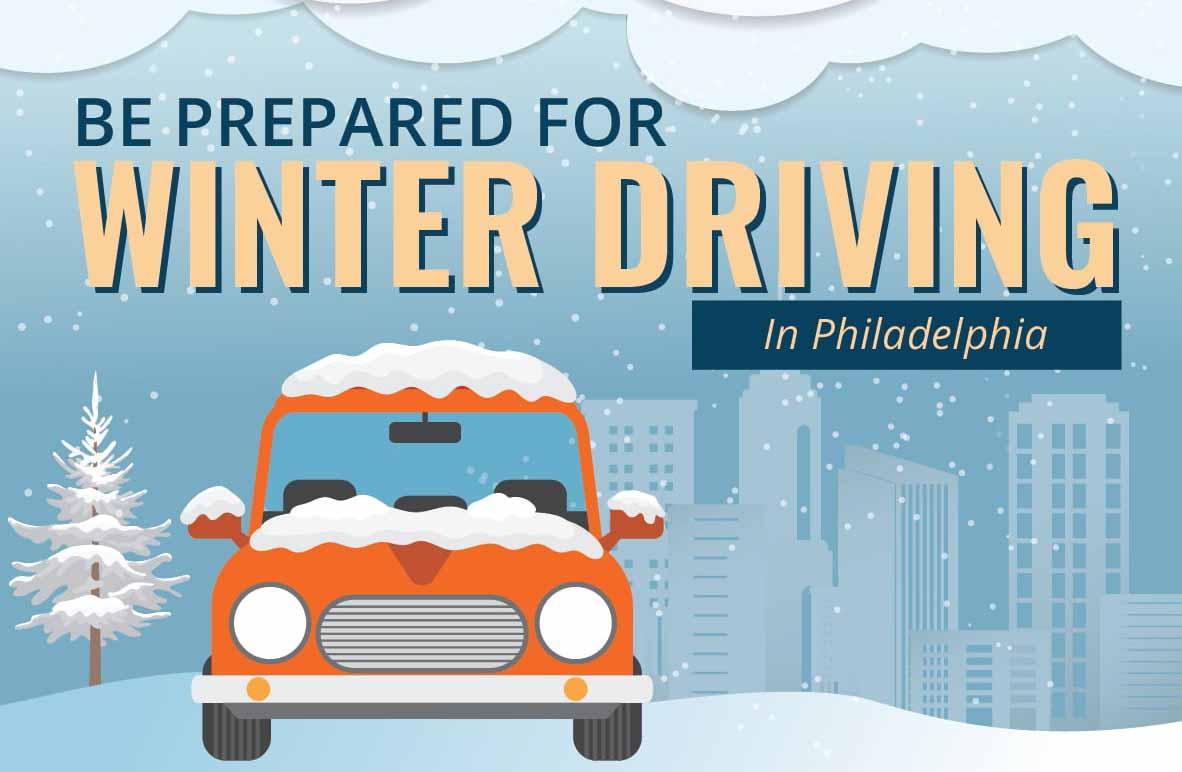 Be Prepared For Winter Driving in Philadelphia