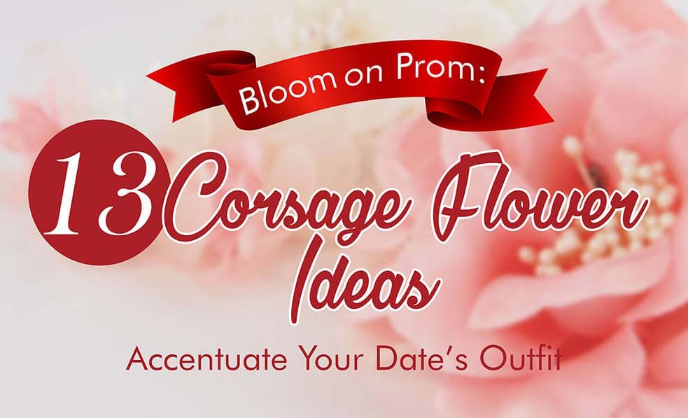 13 Corsage Flower Ideas for Your Prom Night