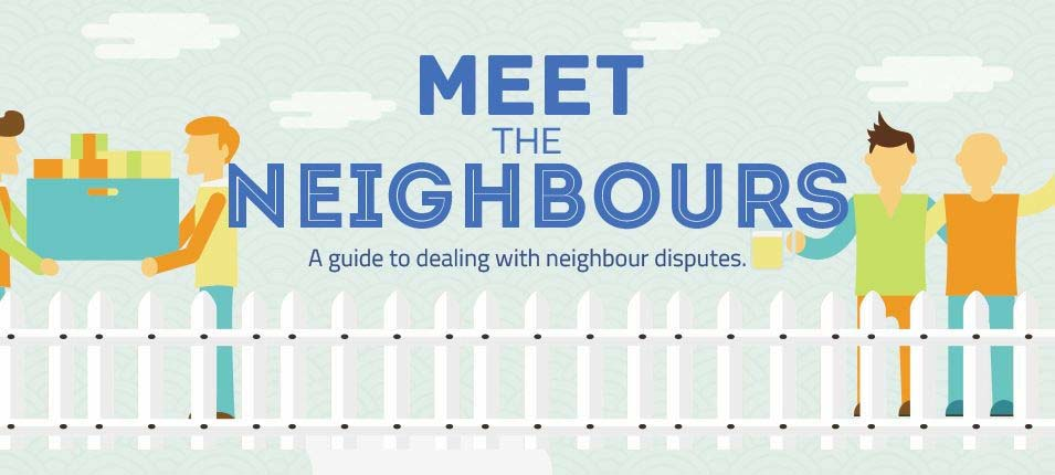 Meet the Neighbors: A Guide to Dealing with Neighbor Disputes