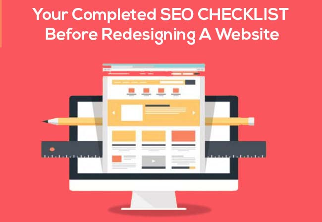 Complete SEO Checklist Before Redesigning a Website