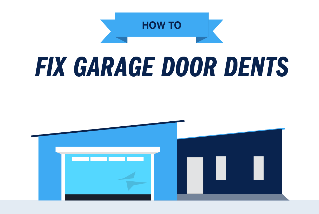 How to Remove Garage Door Dents