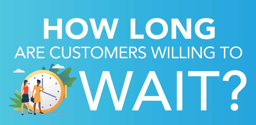 How Long are Customers Willing to Wait?