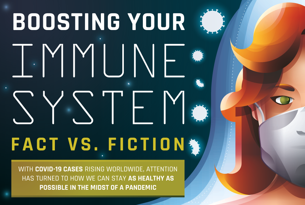 Boosting Your Immune System: Fact Vs. Fiction