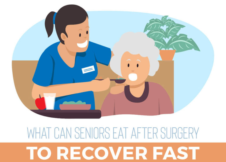 What Can Seniors Eat After Surgery to Recover Fast