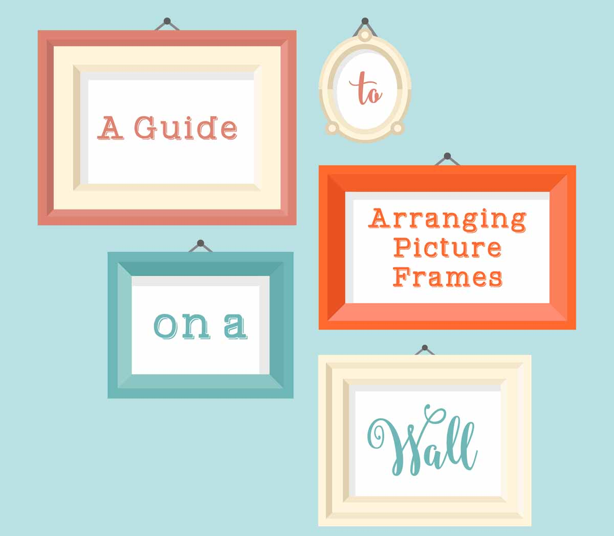 Guide To Arranging Picture Frames On A Wall