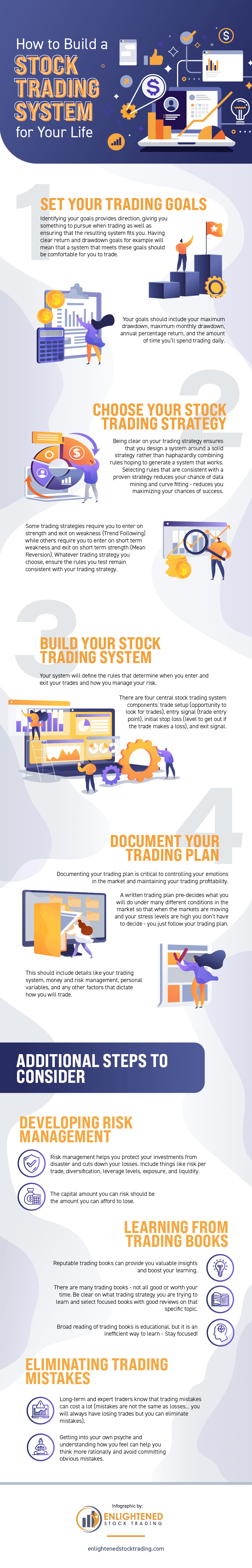 Stock Trading System: 3 Useful Tips You Need to Know [Infographic]