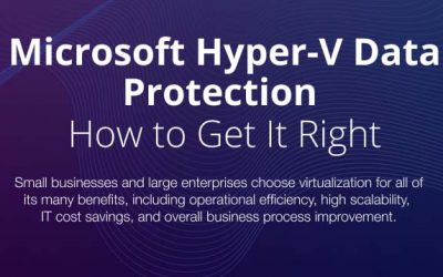 Why You Need to Change Your Approach to Hyper-V Data Protection