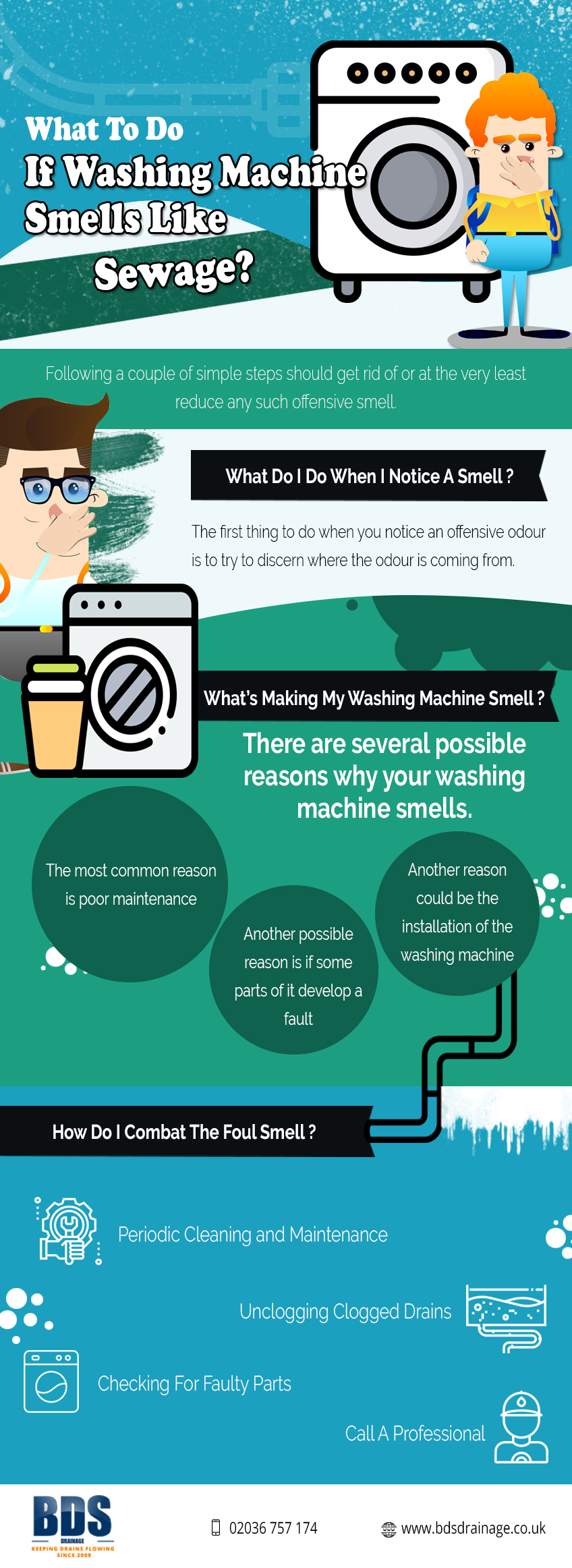 Ways to Eliminate Sewage Smell in Washing Machine
