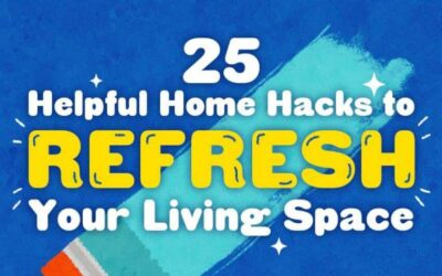 25 Hacks To Spring Clean Your Home