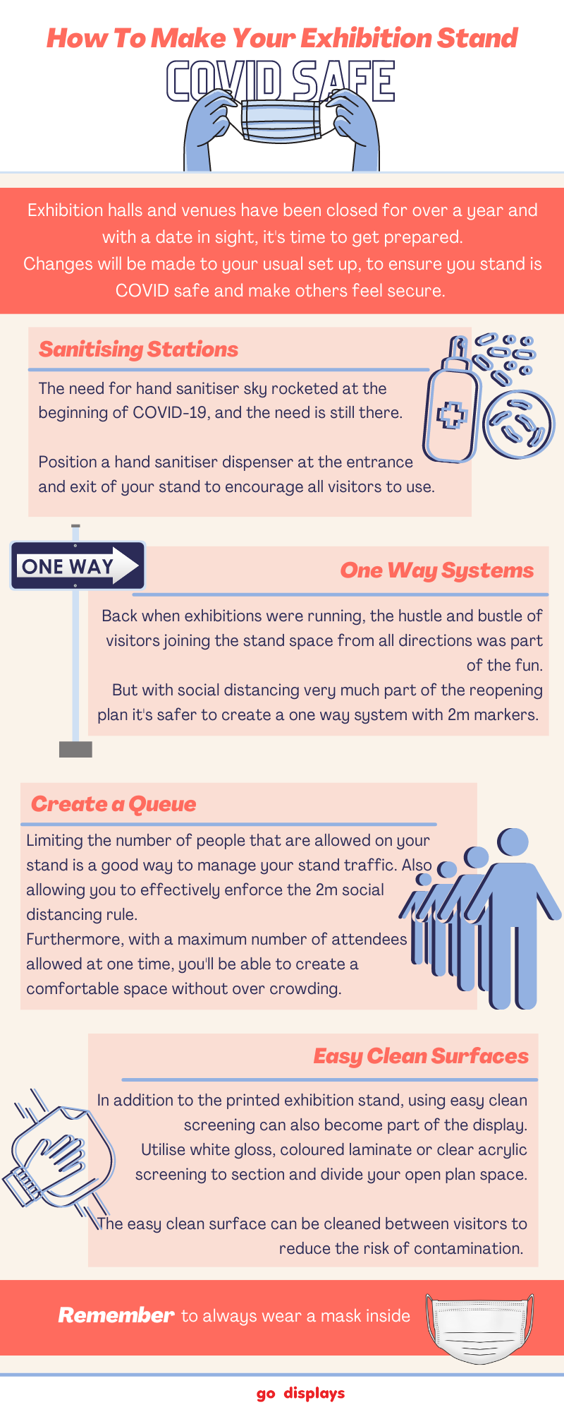 How To Make Your Exhibition Stand COVID Safe