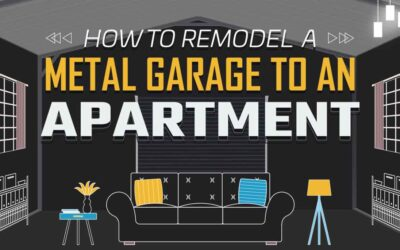 How to Remodel a Metal Garage to an Apartment?