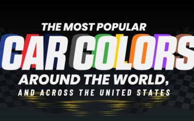 The Most Popular Car Colors Around the United States and the World