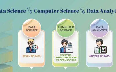 Data Science vs Computer Science vs Data Analytics