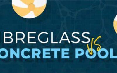 Fibreglass vs Concrete Pools