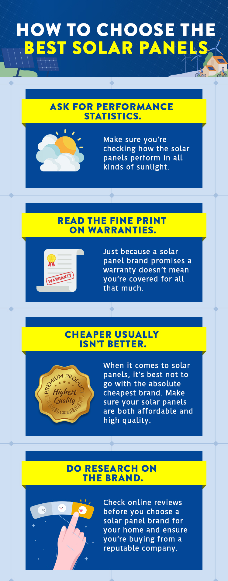 How To Choose The Best Solar Panels