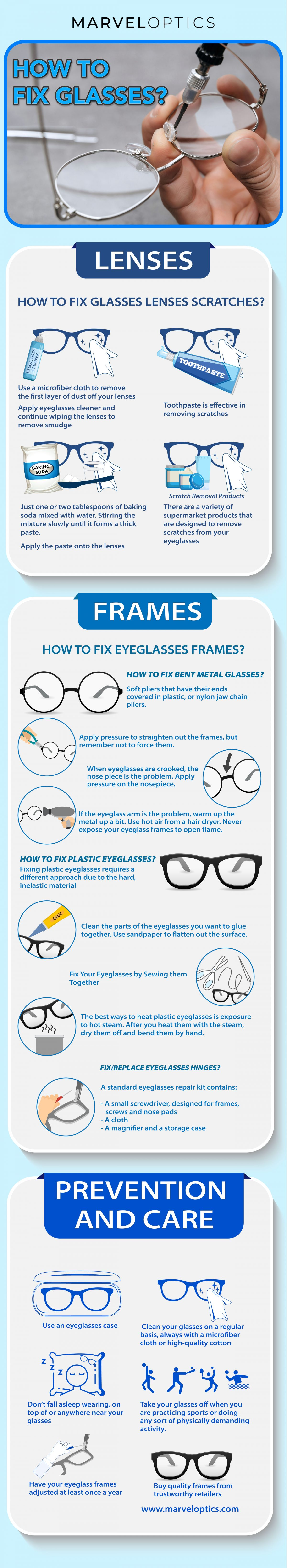 A Complete Guide to Eyeglasses Care and Repair