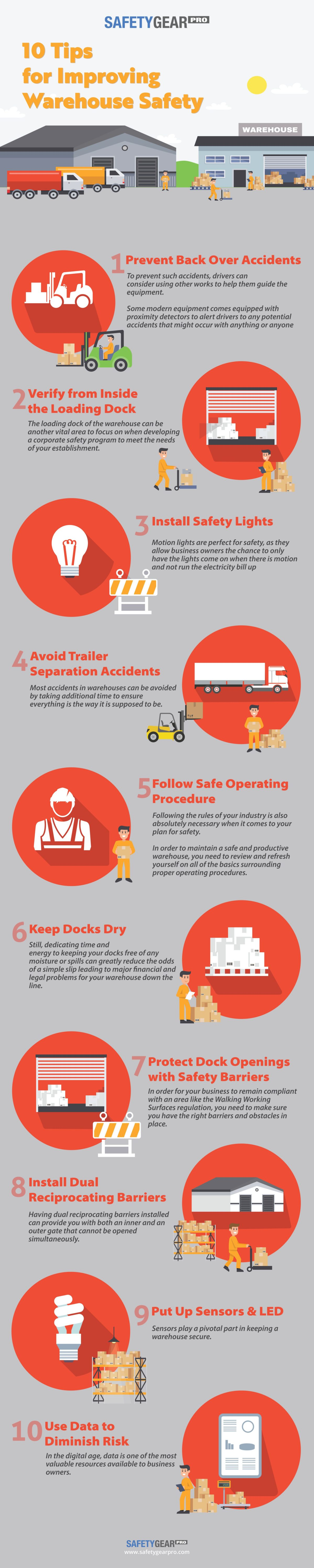10 Essential Tips for Improving Warehouse Safety