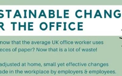 Sustainable Changes For The Office