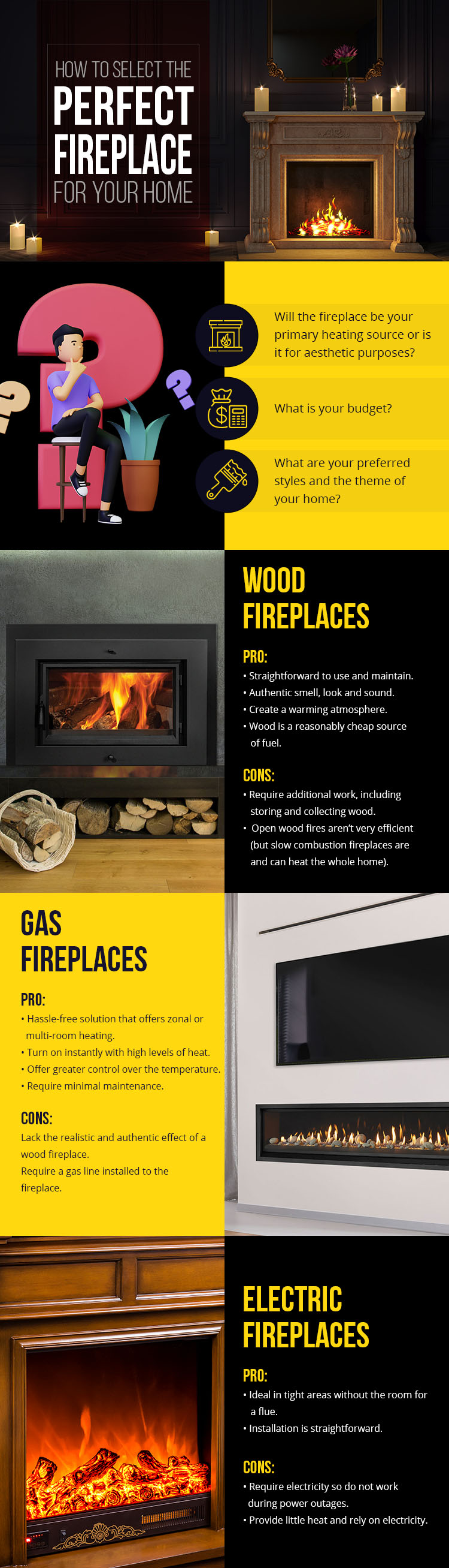 How to Select the Perfect Fireplace for Your Home